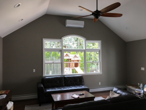 Mini split system indoor unit Scotch Plains