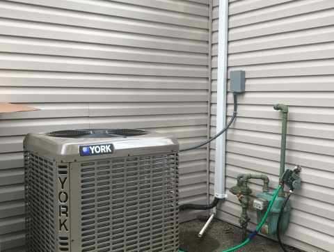 New installation of AC in Avenel NJ