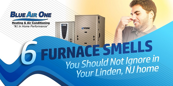 6 Furnace Smells You Should Not Ignore in Your Linden, NJ home
