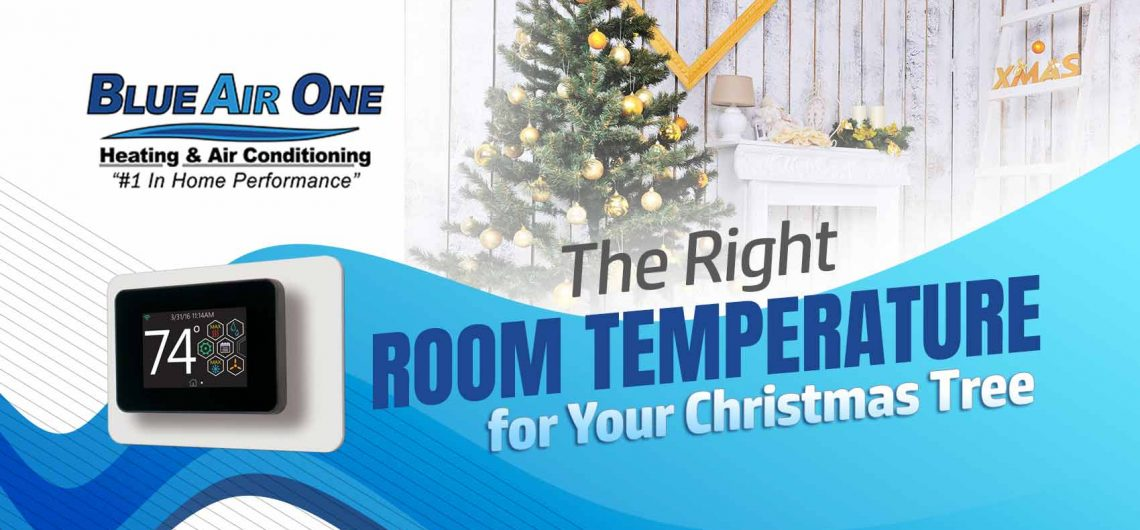The Right Room Temperature for Your Christmas Tree
